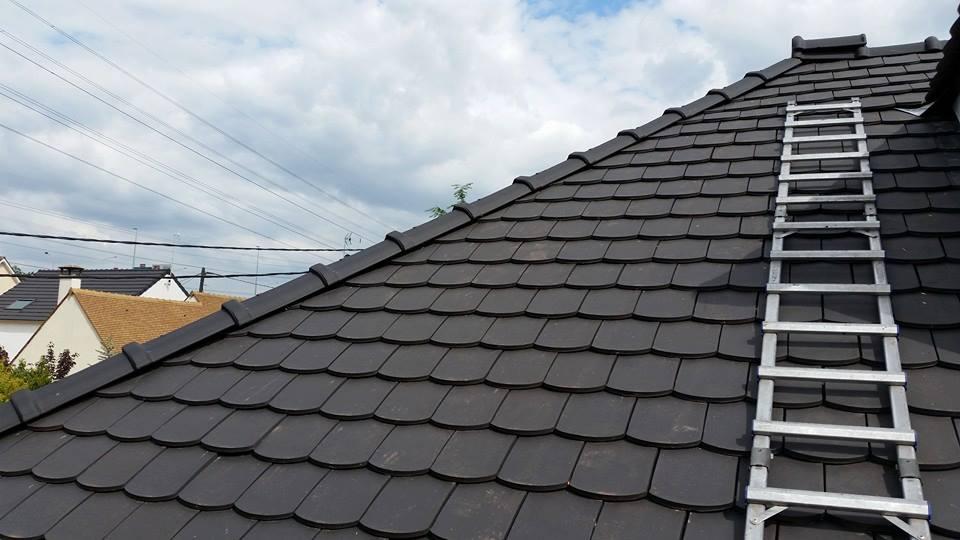 Un toit que nous avons refait