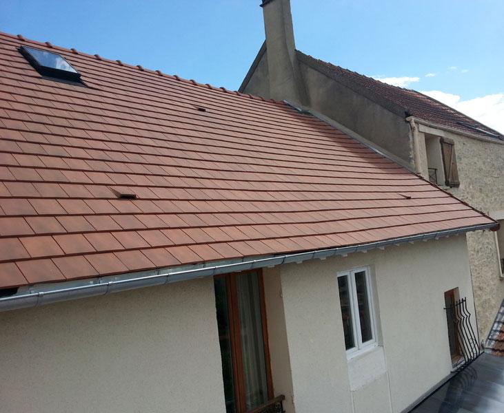 La couverture de toit dans le Val d'Oise (95)